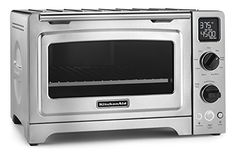 """KitchenAid KCO273SS 12"""" Convection Bake Digital Countertop Oven - Stainless Steel KitchenAid http://www.amazon.com/dp/B00EAI325I/ref=cm_sw_r_pi_dp_TDYFub10YMYFP"""