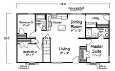 Floor plans modular home manufacturer ritz craft homes for Modular basement flooring