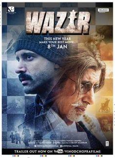 WAZIR(2016) Çocuğunu kaybetmiş polis memurunun suçluyu bulma çabası ve bu süreçte tanıştığı satranç ustası ile gelişen dostluğunun anlatıldığı filmde,oyun ve hayat arasındaki ilişki çok güzel yansıtılmış.Kurgusu,oyuncuları ile aklınızda yer edecek izlemeniz gereken bir film.Başrollerde Amitabh Bachchan ve Farhan Akhtar yer alıyor. İmdb puanı:7,2