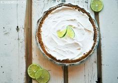 The Absolute Best (and Healthiest) Key Lime Pie | No Sugar Sweet Life