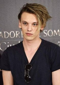 Jamie Campbell Bower. Geez my eyes can't handle the beauty coming from this hottie