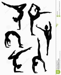 Resultado de imagen para dibujos de gimnasia ritmica para imprimir