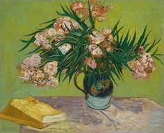 Van Gogh, Oleanders, August 1888. Oil on canvas, 60.3 x 73.7 cm. The Metropolitan Museum of Art, New York.
