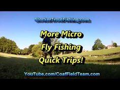 More Micro Fly Fishing Quick Trips! #microflyrod #microfishing - Stocker Trout Fishing