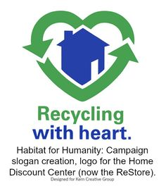 Recycling with heart ~ Habitat for Humanity
