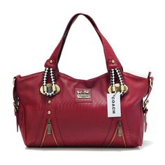 Coach In Embossed Medium Red Totes DFY Outlet Online All New Designer  Handbags 8c7cd74a83