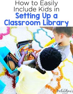 When setting up a classroom library you don't have to do it all on your own! Include the students and they will take ownership of it! Read these simple steps to have them help organize a classroom library! Word Work Activities, Kindergarten Activities, Book Activities, Classroom Setup, Preschool Classroom, Future Classroom, Library Organization, Organization Ideas, Library Ideas