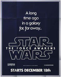 Minimalist Poster | The Force Awakens
