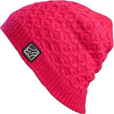 Fox Girls Beanie - Techronic - SurfandDirt.com your choice for Crocs shoes and the hottest surf and motocross brands around.