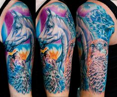 1067 Best Equine tatto...