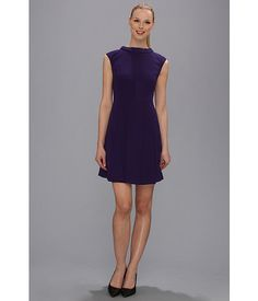 Vince Camuto Flair Skirt Dress