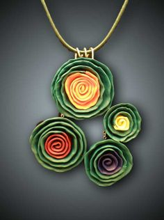 Emerald Spring Necklace by MILAMA