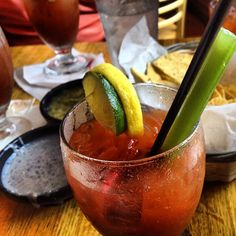 The best bloody mary's in town... Casa Nueva!
