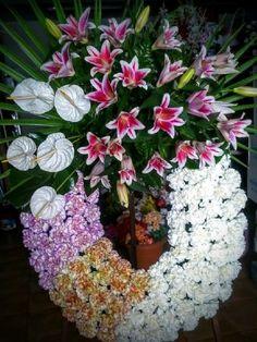 Envío de coronas de flores al velatorio en el mismo día