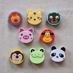 Animal Tape Measure from Backstitch
