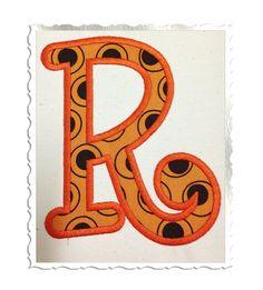 Boyz R Gross Applique Machine Embroidery Font Monogram Alphabet - 4 Sizes on Etsy, $4.95
