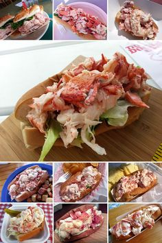 """10 Lobster Rolls You Must Try Near Acadia National Park"" I can't wait to get to Maine!!!"