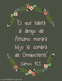 Salmo 91....promesa en medio de la tormenta!!!!