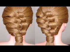 Easy Intricate Knotty Braid Hairstyle Tutorial - YouTube