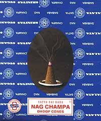 Nag Champa incense cone 12 pack