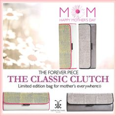 """""""Mothe's Day Is May 12 , And We At #KatherineKwei Have Just The Gift For All Mom's. Our Limited Edition #Endora Clutch."""" by irishrose1 ❤ liked on Polyvore"""