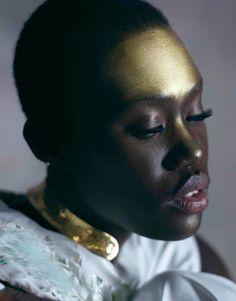 Aminata Sanogo for Superior Magazine by Thomas Mocka