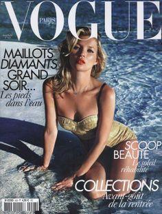 Vogue Paris June/July 2010 Cover (Vogue Paris) Kate Moss by Mario Sorrenti
