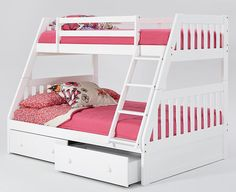 Hillary Twin over Full Bunk Bed