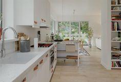 Projekt domu Berenika - murowana – ceramika 135,3 m2 - koszt budowy - EXTRADOM 4 Bedroom House Plans, Bungalow House Plans, Family House Plans, Dream House Plans, Modern House Plans, Modern House Design, Garden Seating, Facade House, Architecture Design