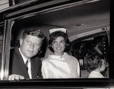 Jack & Jackie Kennedy, London, 1961
