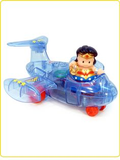 Little People Wonder Woman Invisible Jet! How cool is that?