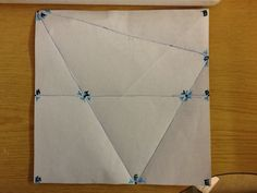 very cool folding activity for geometry...students must use perpendicular lines, linear pairs, vertical angles and triangle sum theorem to justify the measure of every angle.