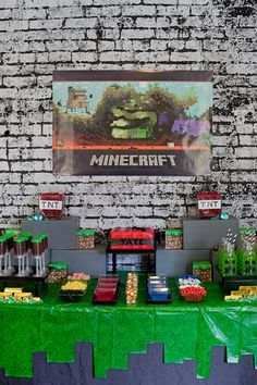 Hostess with the Mostess® - Minecraft Birthday Party.