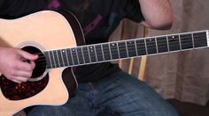 Finger Picking the Guitar - Easy Beginner Acoustic Guitar Lessons - Fing...