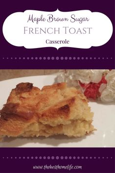 French toast casserole can be so easy and fast to prepare for a family breakfast. I love making this recipe for weekends. This could easily become one of your favorite Breakfast Casserole French Toast, Breakfast Recipes, Breakfast Ideas, Baking Recipes, Drink Recipes, Yummy Recipes, Cooking Time, Cooking Stuff, Quick And Easy Breakfast