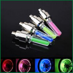 Bicycle Accessories Hot Sale Colorful Growing Tyre Wheel Flashing LED Bicycle FireFlys Light For Car Motorbike