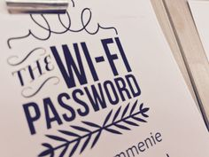 Free WiFi to send a nice picture to the family or read your email! #bedandbreakfast #zaanstad #amsterdam
