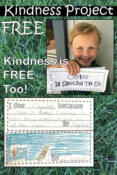 Kindness Project, Kindness Project for Kids, Kindness Activities, Kindness in school, no bullying, kindness in the classroom, kindness, Acts of Kindness, Acts of Kindness for Kids, teaching kindness, social skills, kindness books, kindness art, kindness lessons, kindness for kids, kindness challenge, kindness matters, kindness ideas, back to school, encourage kindness, 1st grade social skills, first grade social skills, 2nd grade social skills, second grade social skills, free kindness…
