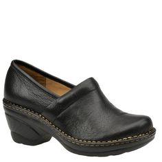 Softspots Women's Larissa Clogs,Black,8.5 W