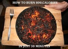 This made me laugh - just the smell would make you not want pizza for quite a while!
