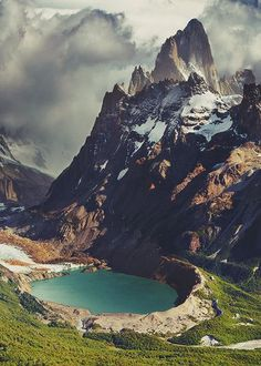 Mount Fitz Roy, Patagonia, Chile #Chile #Patagonia #Travel #South #America