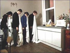 Jan Family styling fashion shoot, wearing, draping, garments, group