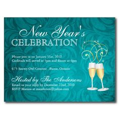 20 Best New Years Day Invitations Images On Pinterest New Years