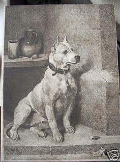 John Emms BT, etching