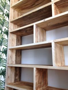 This bookcase is made from salvaged wood and has an industrial look which works perfectly in any living space. This unit can be made to measure to your own specifications, and the wood also stained to your own preference. Why buy something from Ikea when you can have something especially made for you with beautiful, unique, solid wood?  This display can be freestanding or wall mounted depending on the your requirements - larger designs will benefit from being mounted, any installation is…
