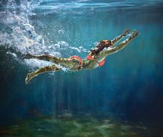 "Gallery Henoch - Eric Zener - A Clear Opening Ahead - Oil on Canvas - 72"" x 84"" - Solo Show ""Escape"" September 8 - October 1, 2016"
