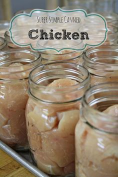 Prepare 20, 40, or even 60 lbs of chicken at once! No need for refrigeration, or freezing and it's all cooked and ready to go! Really easy to do and rewarding too.