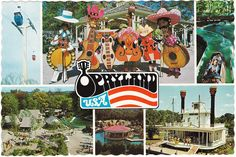 I miss the Opryland USA Theme Park! Opened in 1972.