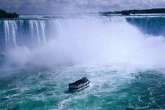 Niagara Falls and the Maid of the Mist