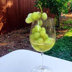 ... frozen grapes | Food | Pinterest | Frozen Grapes, Wine and Frozen